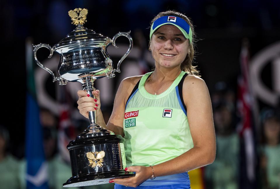 Sofia Kenin Fed Cup Australian Open