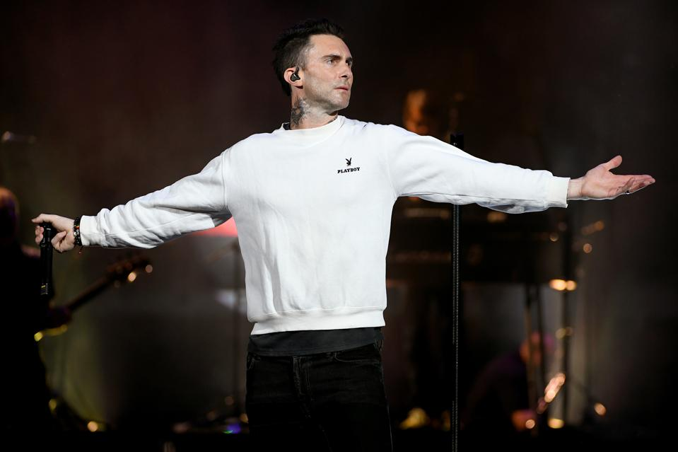 Maroon 5 Ties Katy Perry's Record When It Comes To No. 1 Radio Hits