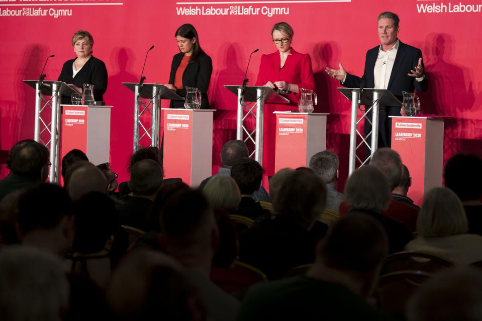 Emily Thornberry, Lisa Nandy, Rebecca Long-Bailey and Keir Starmer