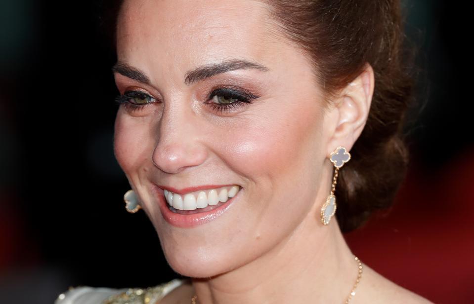 duchess of cambridge baftas 2020 kate middleton