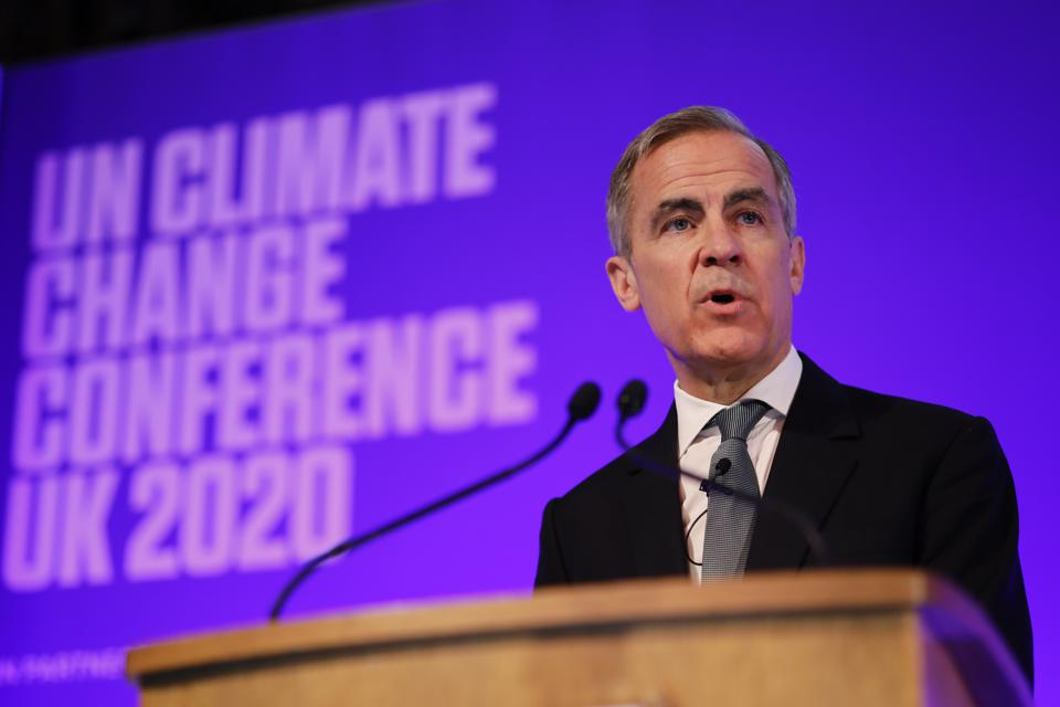 Bank Of England Launch Private Finance Agenda For COP26