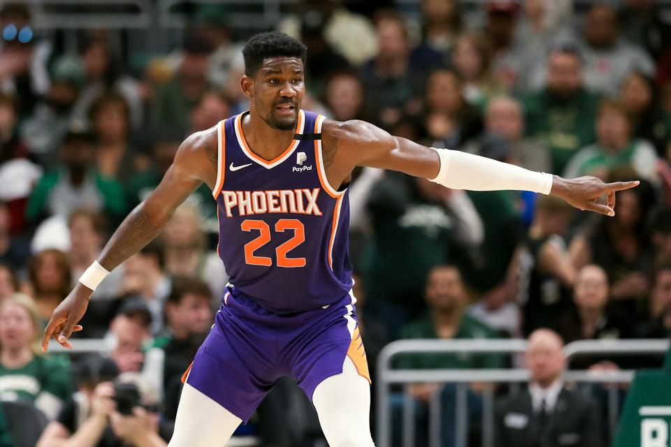 Deandre Ayton is taking a big leap for the Phoenix Suns in his second season.