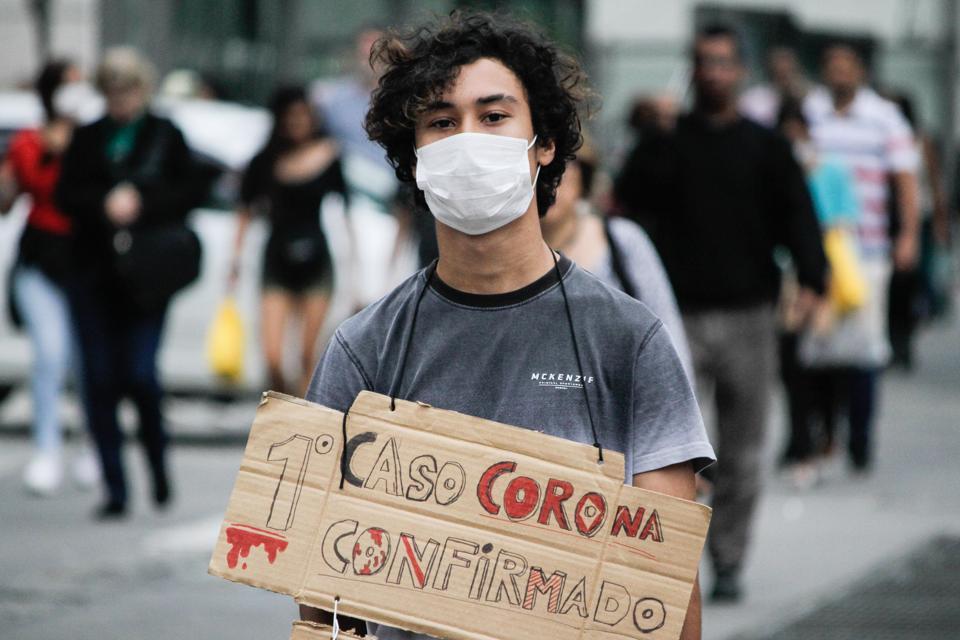 Coronavirus In Sao Paulo, Brazil