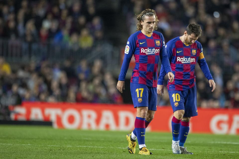 An ex-coach sees Antoine Griezmann as 'sad' alongside Lionel Messi at Barcelona