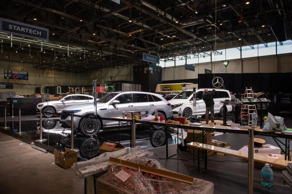 Geneva Auto Show Cancelled Due To Coronavirus Fears