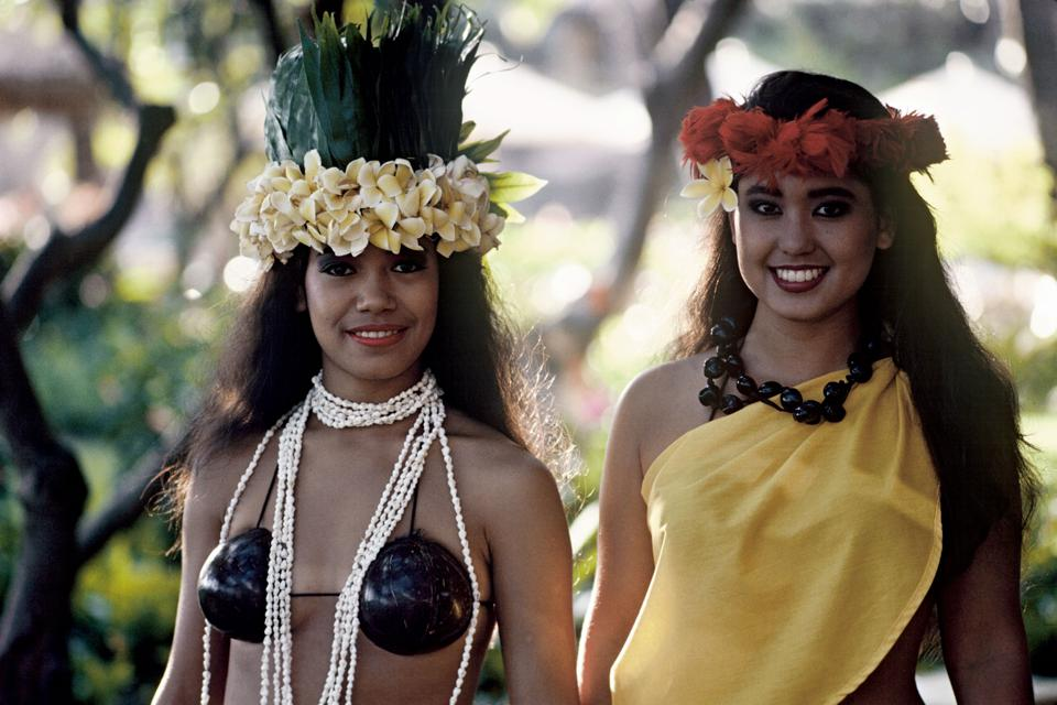 Havajské tanečnice Hula