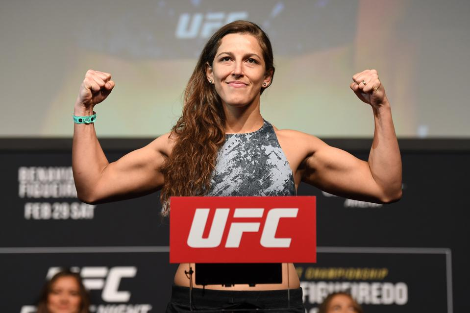 Felicia Spencer faces Amanda Nunes in the main event of Saturday's UFC 250 pay-per-view card