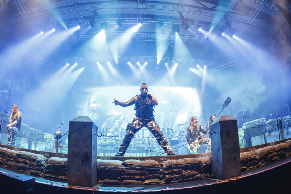 Live Concert by Sabaton. Startup DEMAND by Google uses big data to improve event ticketing