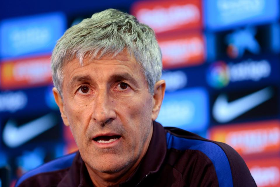 FC Barcelona coach Quique Setien has spoken on Lionel Messi's future ahead of Villarreal