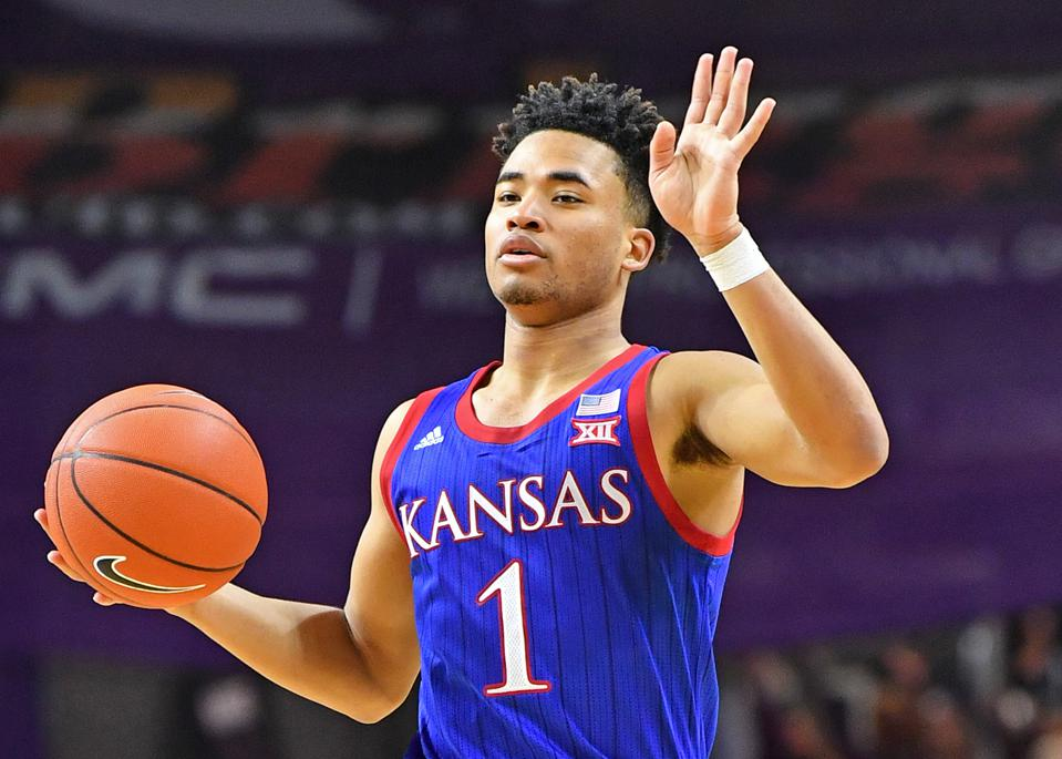 Kansas is the current favorite to win the 2020 NCAA Tournament