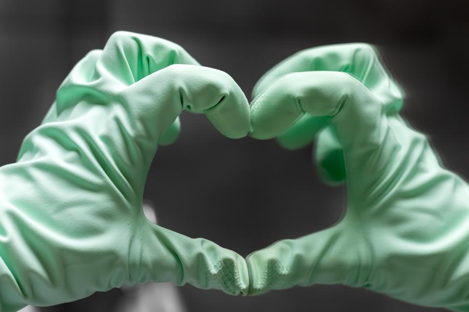 The heart sign reminds us that there's a lot of hope for the future of our productive careers and happy lives.