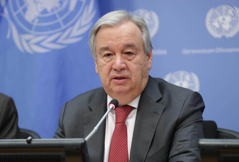 U.N. Chief Urges Governments: 'Prioritise Women's Safety' As Domestic Abuse Surges During Coronavirus Lockdowns