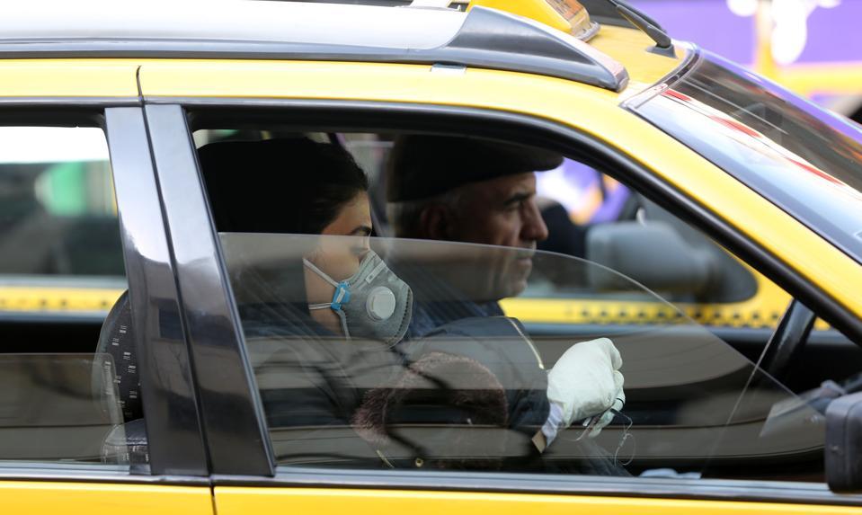 Coronavirus Taxi Uber Lyft