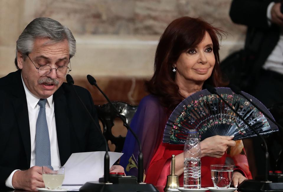 ARGENTINA-POLITICS-FERNANDEZ-CONGRESS