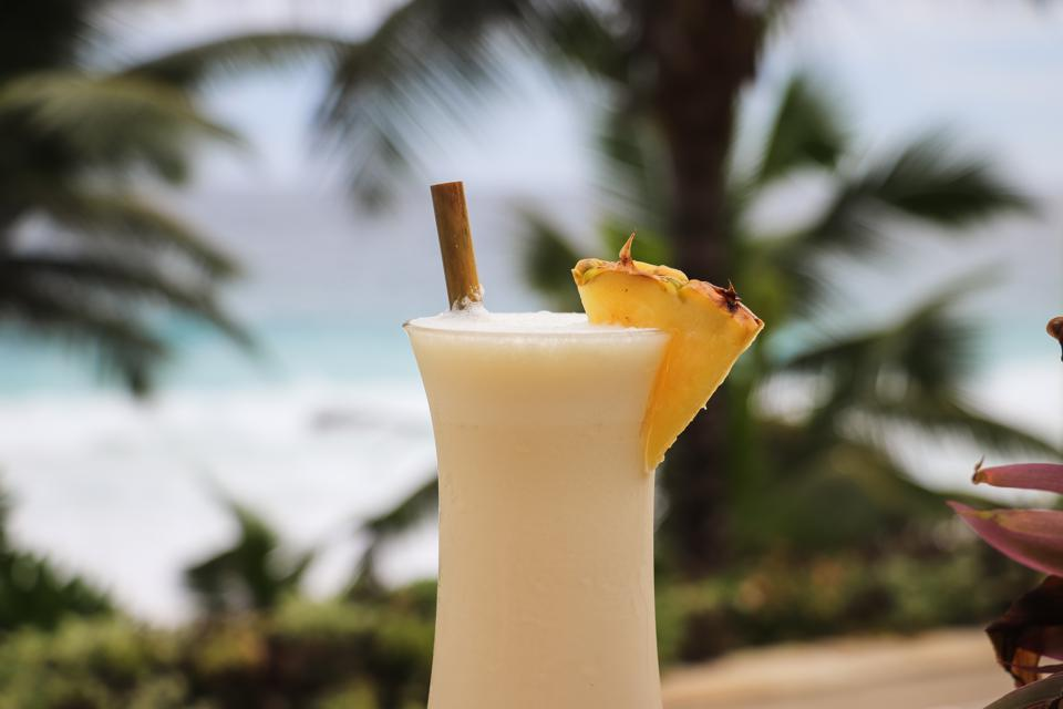 Tropical Cocktail by the Beach