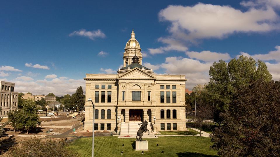 CHEYENNE, WYOMING, USA, Wyoming State Capitol