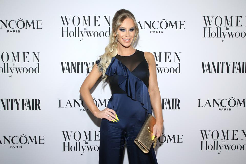 Celebrity Beauty: Arrogance Gorgeous And Lancôme Toast Girls folk In Hollywood In Los Angeles