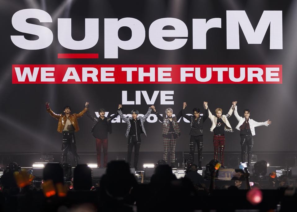 Superm S Virtual K Pop Concert Sees Major Earnings