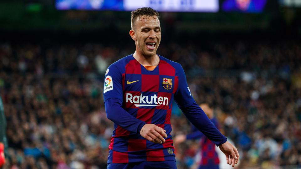 Arthur Melo is again injured and set to miss FC Barcelona's clash with Real Sociedad