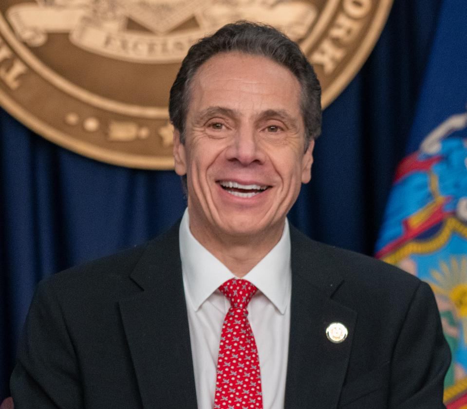 NY Gov. Cuomo halts student loan payments