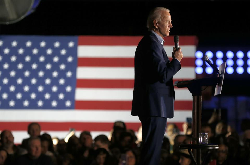 Presidential Candidate Joe Biden Campaigns In Texas Ahead Of Super Tuesday