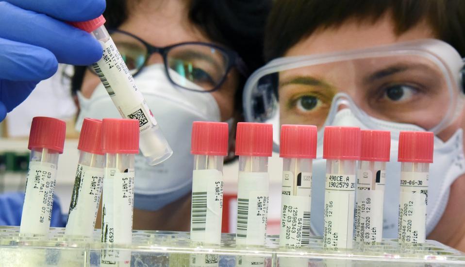 Laboratory tests for suspected coronavirus