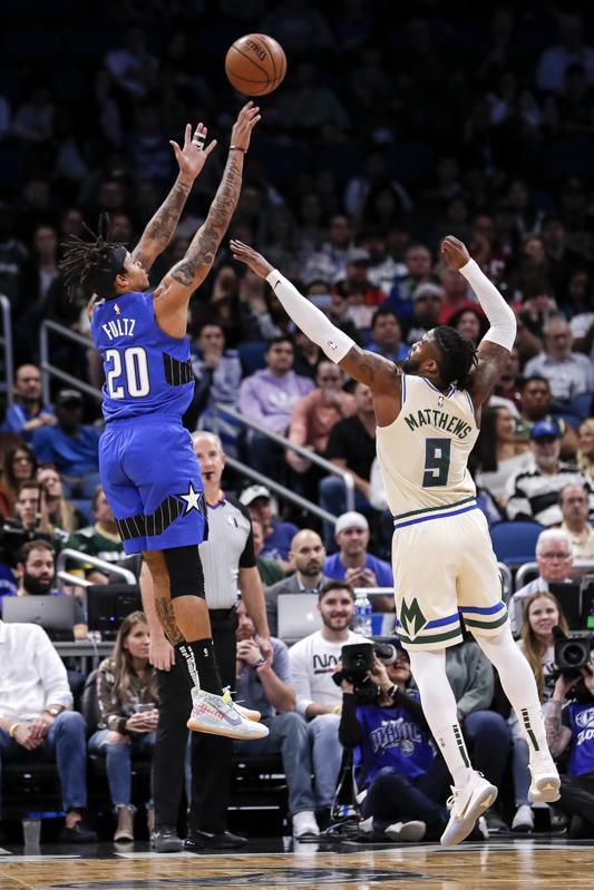 Milwaukee Bucks proti Orlando Magic