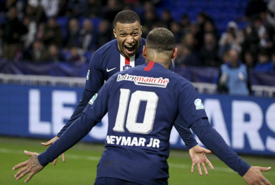 Both Kylian Mbappe and Neymar could leave PSG in the coming months.