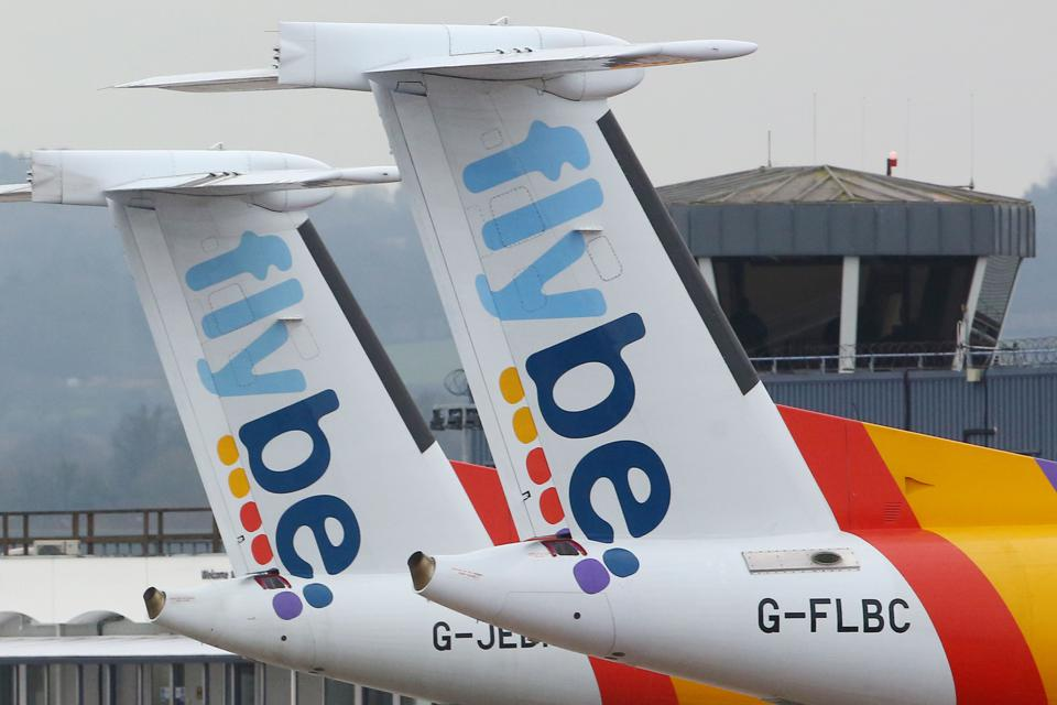 BRITAIN-AVIATION-BANCKRUPTCY-VIRUS-FLYBE