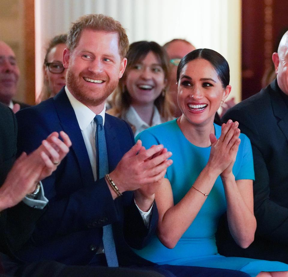 Duke And Duchess Of Sussex at Endeavour Fund Awards