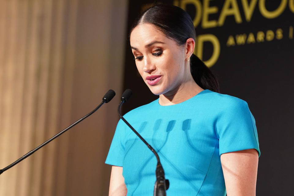 Sussexes at Endeavour Fund Awards