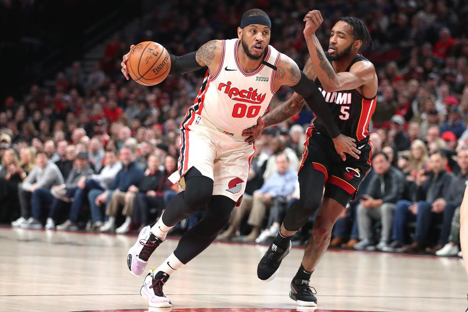 Carmelo Anthony's Shooting Is Key To Trail Blazers' Playoff Quest