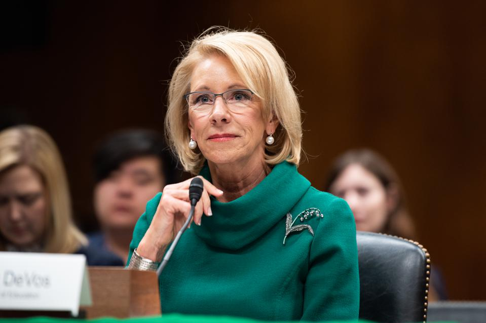 Senate Votes To Overturn Betsy DeVos Decision To Withhold Debt ...