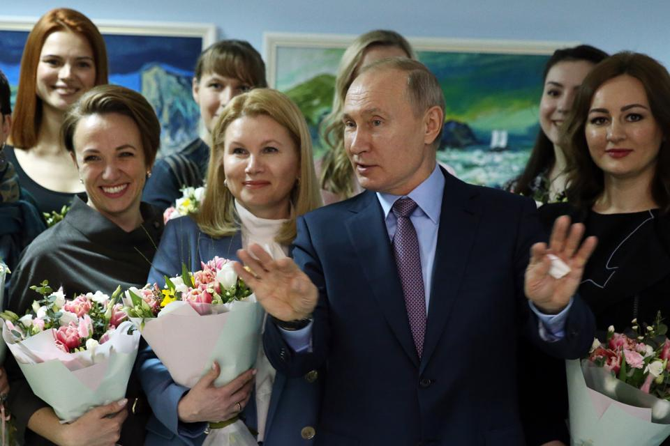 Russian President Vladimir Putin visits Ivanovo