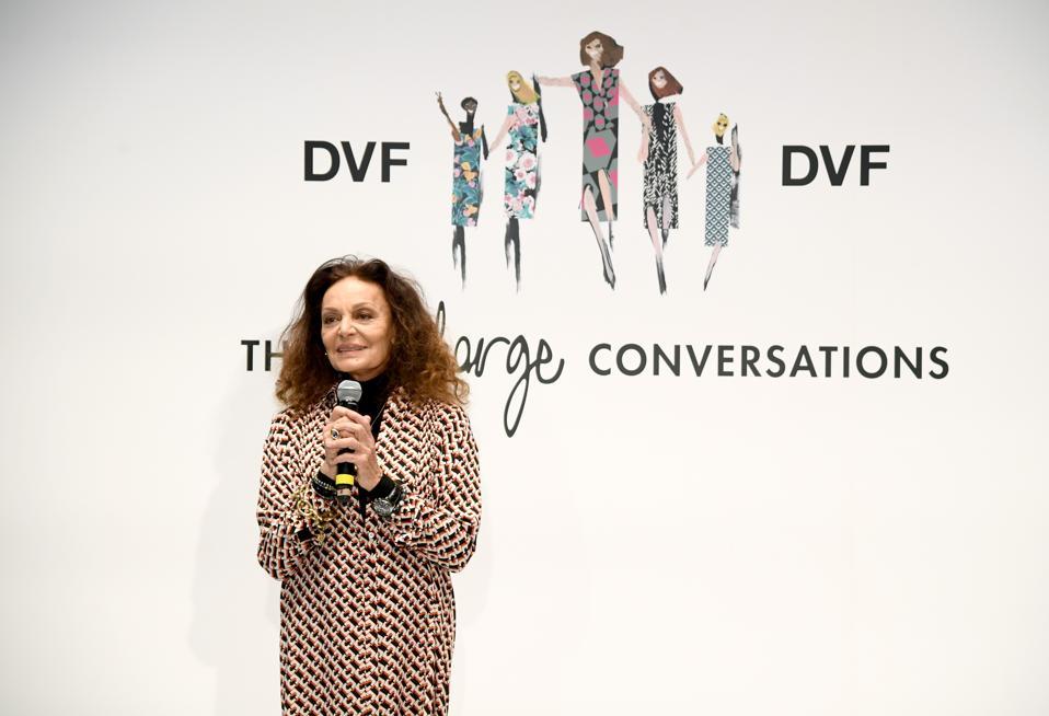 Diane Von Furstenberg's InCharge Conversations 2020 Presented by Mastercard