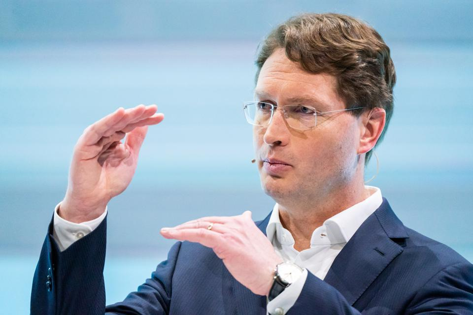 Embattled Daimler head Ola Kallenius insists its financial position is secure.