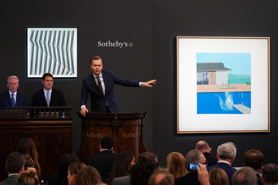 Sotheby's Contemporary Art Evening Auction.