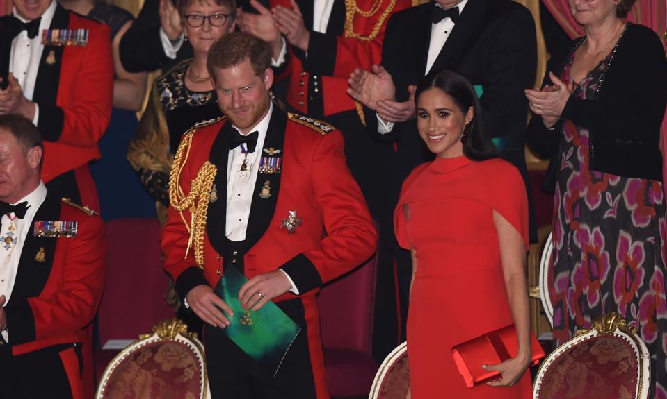 Duke And Duchess Of Sussex at Mountbatten Music Festival