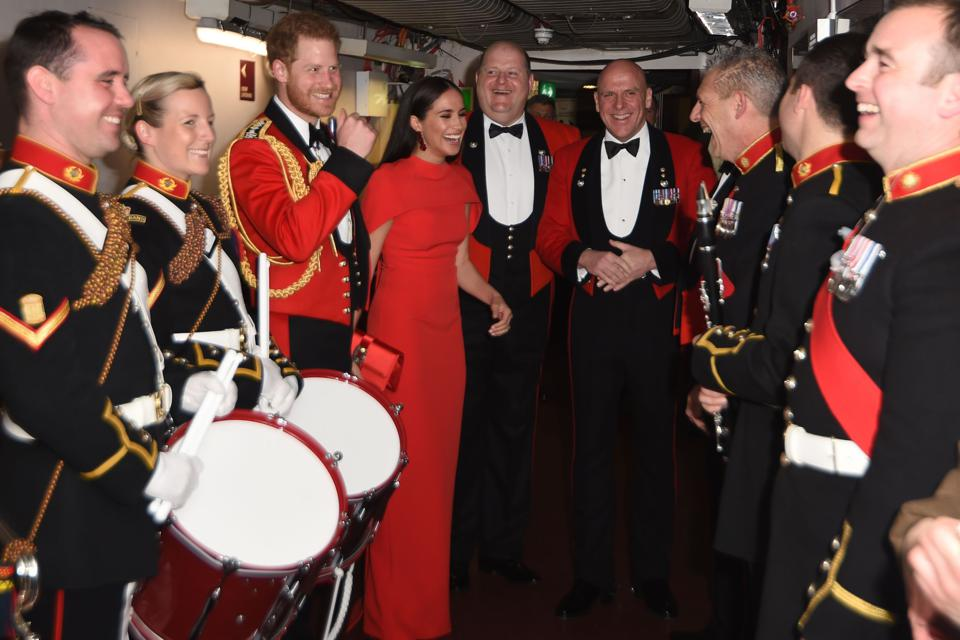 BRITAIN-ROYALS-MUSIC-ARMY