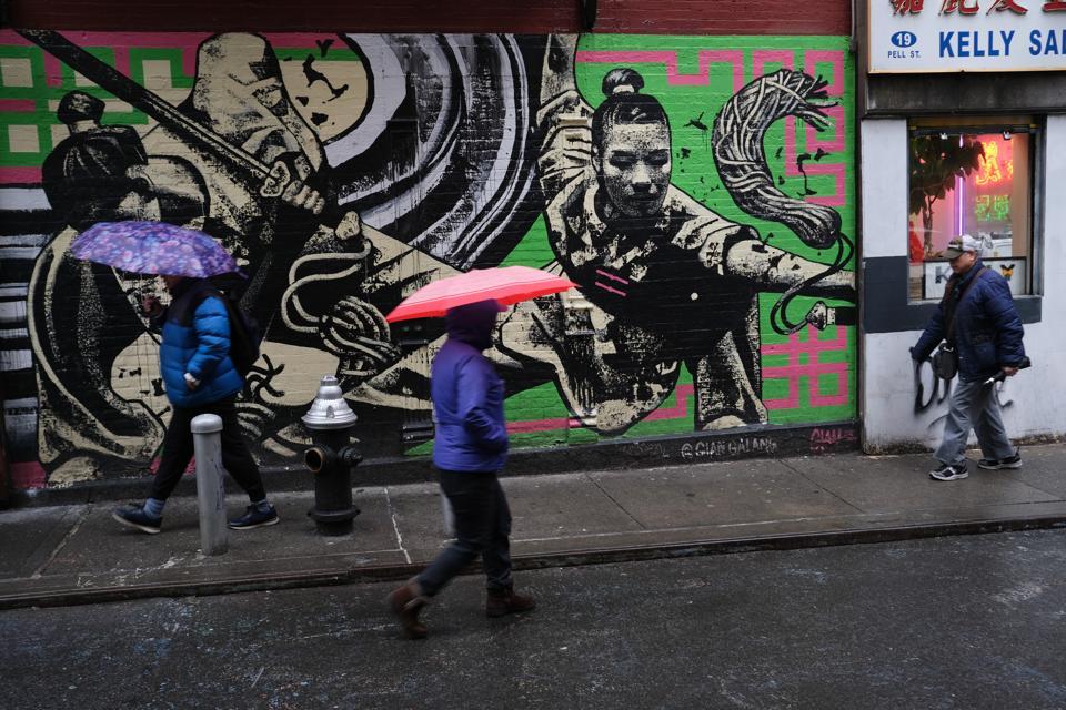 New York's Chinatown Businesses Feel Slowdown Due To Fears Over Coronavirus
