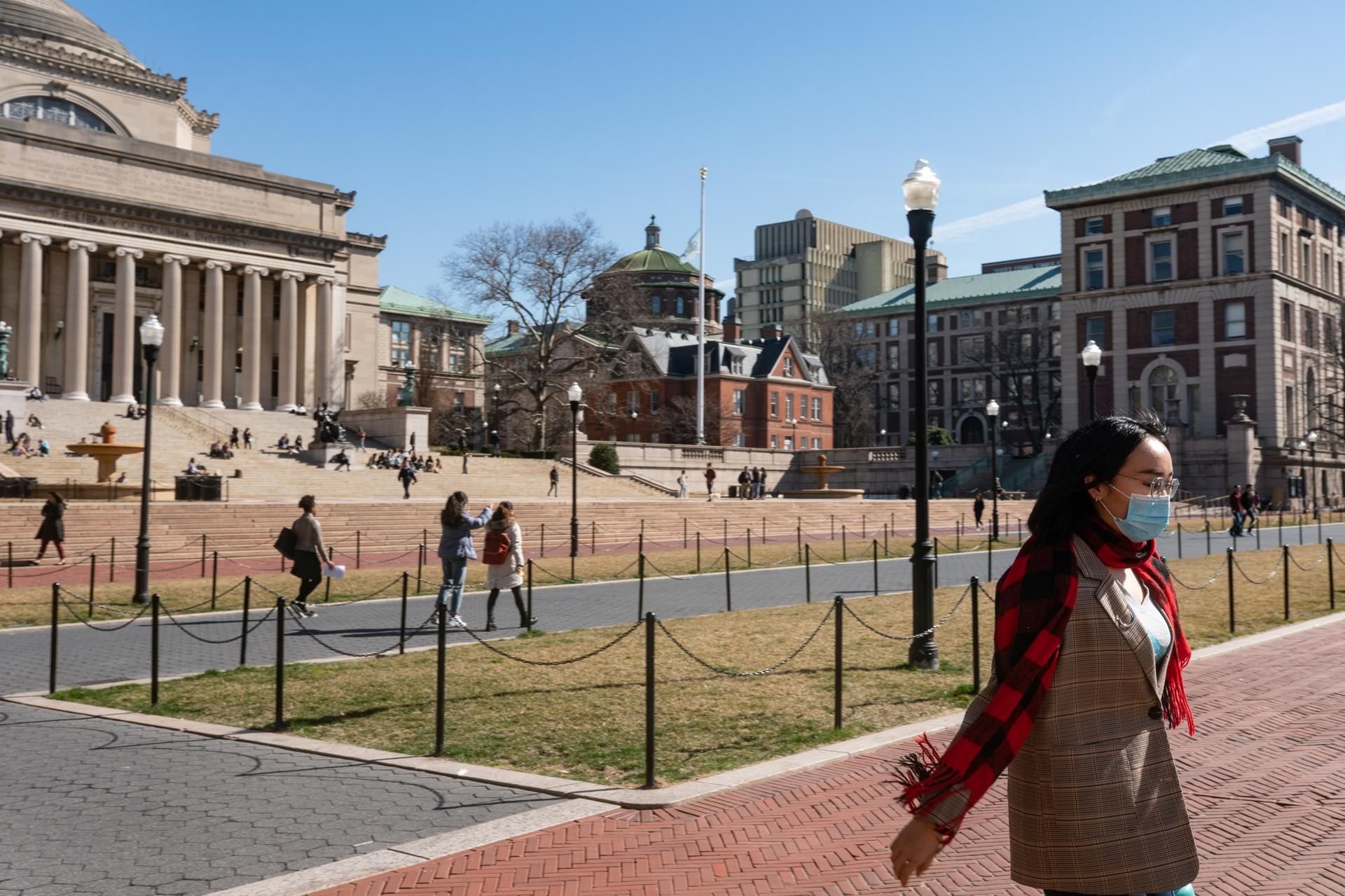 Columbia University Cancels Classes For Two Days After Faculty Member Is Exposed To Coronavirus
