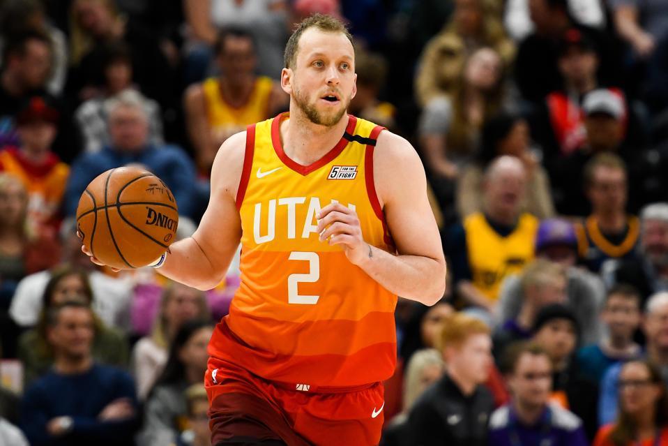 Utah Jazz Forward Joe Ingles' 2019-20 Season Review