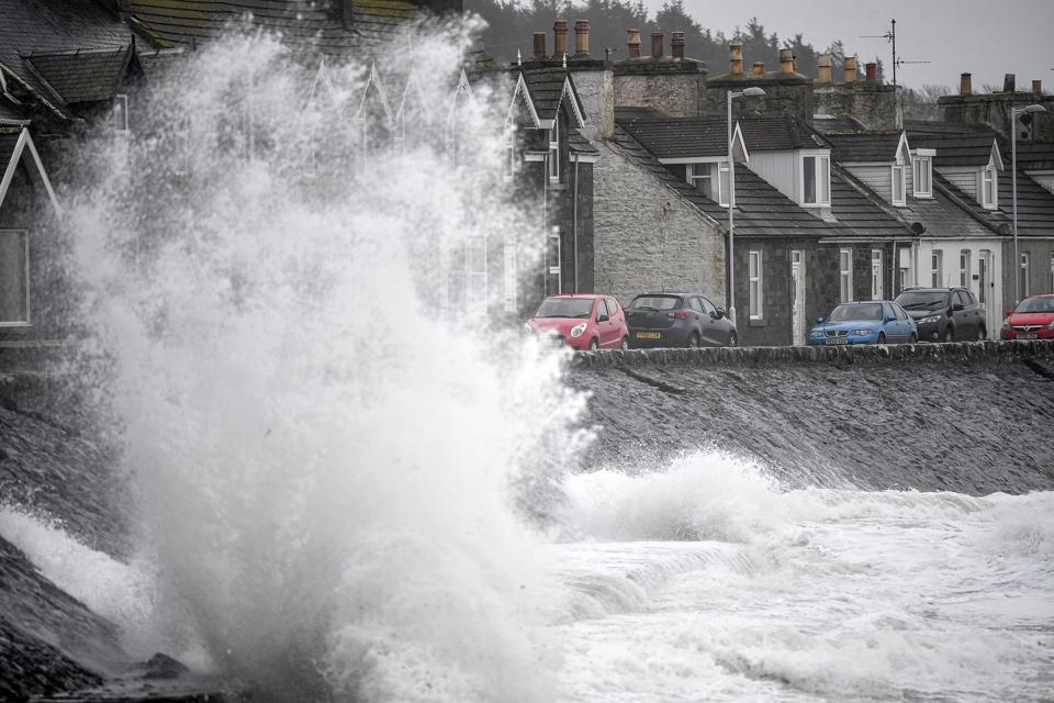 Storm Dennis Arrives In The UK