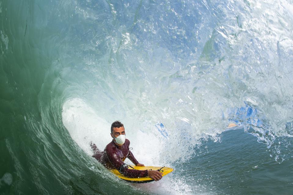 Daniel Fonseca, Bodyboard Champion raising coronavirus awareness
