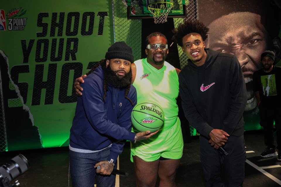 Mtn Dew Fans Closer Than Courtside At Courtside Studios During All-Star 2020