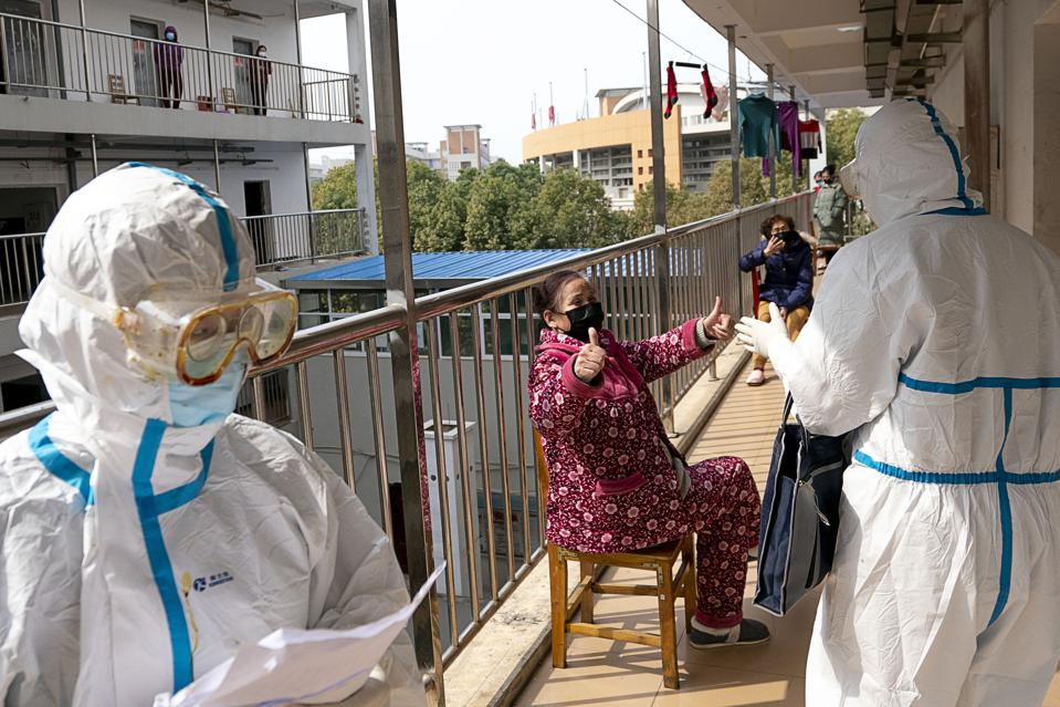 CHINA-HUBEI-WUHAN-COVID-19-REHABILITATION CENTER-MEDICAL OBSERVATION (CN)