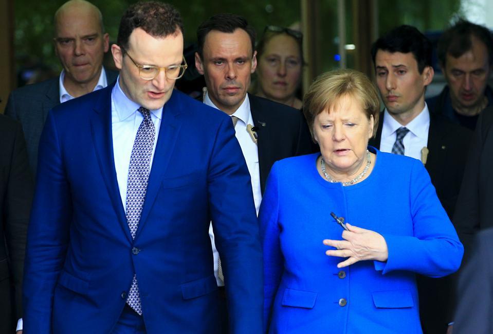 German Chancellor Angela Merkel...