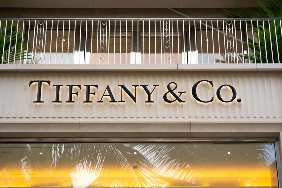 Storefront of Tiffany & Co