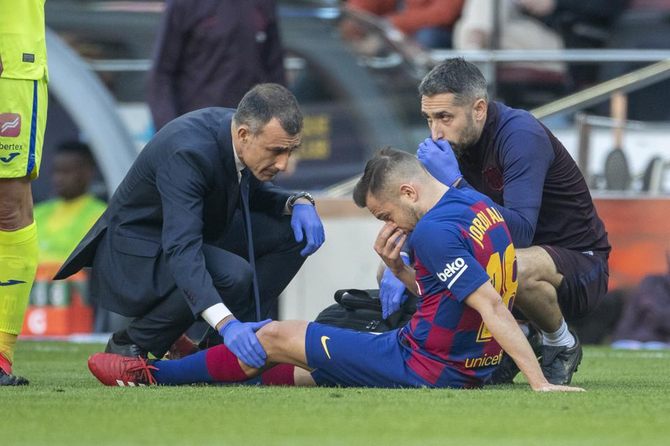 Jordi Alba will not feature in El Clasico between Barcelona and Real Madrid