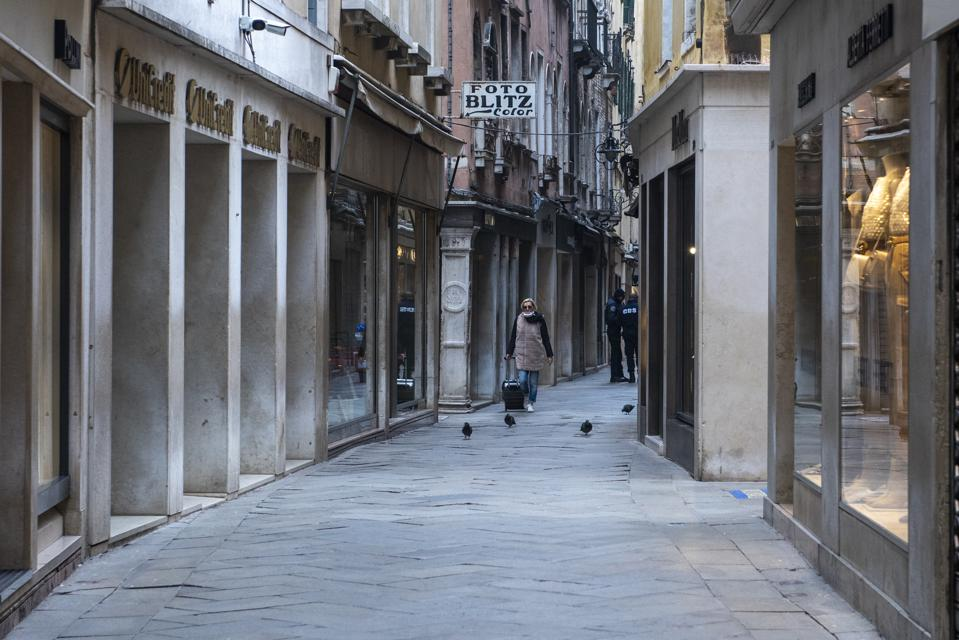 Coronavirus Emergency In Venice